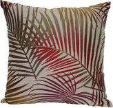 Asstd National Brand Jacquard 18 Palm Leaf Decorative Pillow