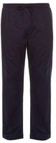 Derek Rose Micro-diamond Print Cotton Pyjama Trousers
