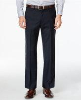 Lauren Ralph Lauren Navy Plaid Dress Pants