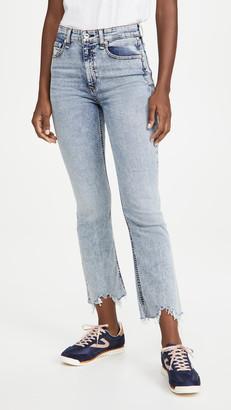 Rag & Bone/JEAN Nina High Rise Ankle Flare Jeans