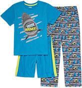 Asstd National Brand 3-pc. Shark Short Sleeve-Big Kid Boys