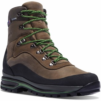 "Danner Men's 67810 Crag Rat USA 7"" Gore-Tex Hiking Boot Brown/Green - 11.5 D"