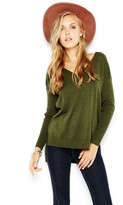MinkPink Fingers Crossed Sweater in Khaki
