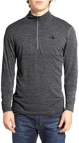 The North Face Men's Merino Wool Blend Quarter Zip Pullover