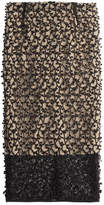 By Malene Birger Textured Lace Pencil Skirt