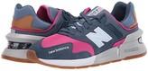 New Balance Classics WS997Jv1 (Stone Blue/Exuberant Pink) Women's Classic Shoes