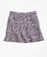 Brooks Brothers Cotton Stretch Boucle Skirt