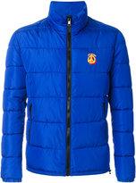 Love Moschino high neck padded jacket - men - Polyamide/Polyester - 46