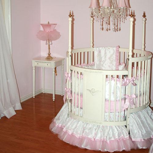 Miss Princess Round Baby Bedding