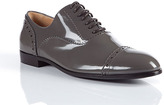 Marc by Marc Jacobs Charcoal Patent Leather Shoes