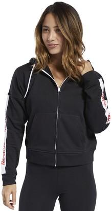 Reebok Women's Training Essentials Linear Logo Hoodie