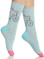 Hue Circus Cat Socks