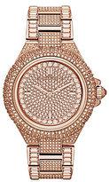Michael Kors Camille Glitz Analog Bracelet Watch