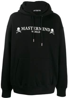 Mastermind Japan logo print hoodie
