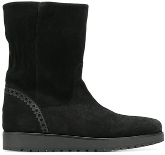 Tommy Hilfiger suede ankle boots