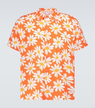Erl Flower printed shirt