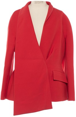 Christian Dior Red Wool Jackets