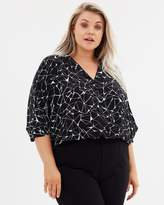 Electric Love Batwing Blouse