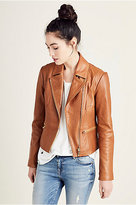 True Religion Leather Moto Womens Jacket