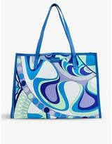 Emilio Pucci Geometric-print tote bag