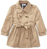 Ralph Lauren Girl Cotton Swing Trench Coat