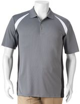 Big & Tall Grand Slam Classic-Fit Colorblock Airflow Performance Golf Polo