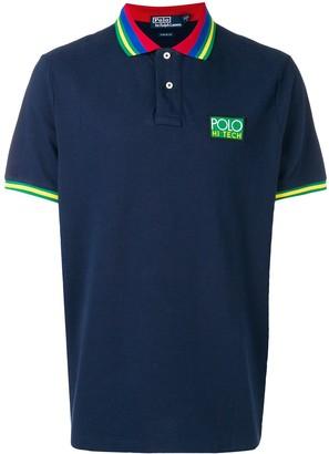 Polo Ralph Lauren Striped Collar Polo Shirt