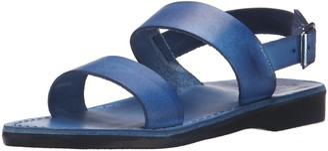Jerusalem Sandals Women's Golan Rubber Flat Sandal