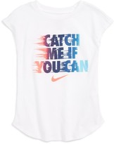 Nike Girl's Catch Me Tee