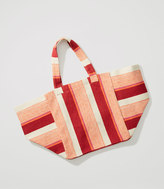 LOFT x Village Ways Tote