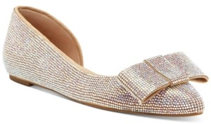 INC International Concepts Inc Women's Maiyana Evening Bow Flats, Created for Macy's Women's Shoes