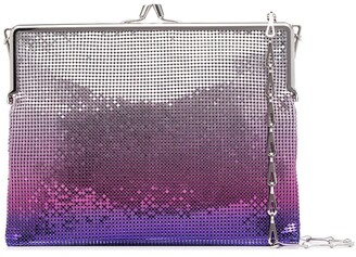 Paco Rabanne Sequinned Ombre-Effect Shoulder Bag