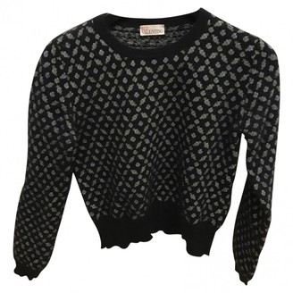 Valentino Red Blue Wool Knitwear for Women