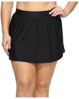Miraclesuit Plus Size Solid Swim Skirt Bottom Women's Swimwear