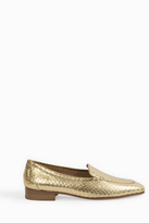 The Row Adam Watersnake Loafers