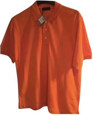 Loewe Orange Cotton Polo shirts