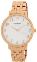 Kate Spade Women&s Monterey Mother Of Pearl Bracelet Watch