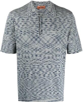 Missoni Fine-Knit Polo Shirt