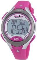 Timex Women's Quartz Watch Ironman Road Trainer T5K722 with Rubber Strap