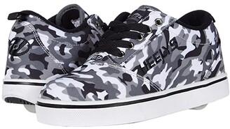 Heelys Pro 20 Prints (Little Kid/Big Kid/Adult) (Charcoal/Grey/Camo) Boys Shoes