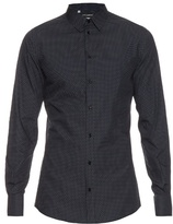 Dolce & Gabbana Micro-dot Print Cotton-poplin Shirt