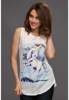 Patterson J. Kincaid George Unicorn Tank (White) - Apparel