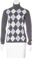 Burberry Argyle Turtleneck Sweater