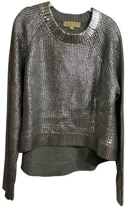 Michael Kors Silver Cotton Knitwear