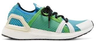 adidas by Stella McCartney Ultraboost 20 S Chevron-knit Trainers - Womens - Green Multi