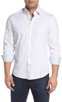 Stone Rose Men's Textured Sport Shirt