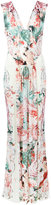 Roberto Cavalli multi print dress - women - Polyamide/Viscose - 40