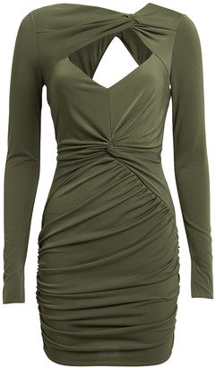 Katie May Fever Draped Mini Dress