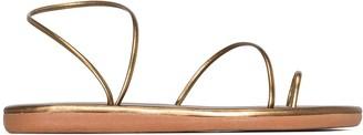 Ancient Greek Sandals Kansiz metallic sandals
