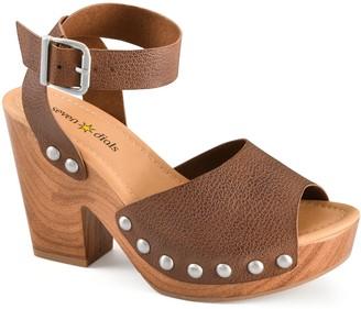Seven Dials by White Mountain Platform Heel Sandals - Calgary